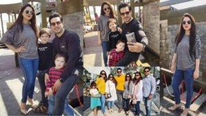 Fatima Effendi enjoy Holidays with her Husband Kanwar Arsalan