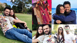 Atif Aslam Celebrate wedding Anniversary with her Young Wife