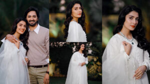 Danish Taimoor and Ayeza Khan New White Collection Pictures