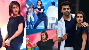 Iqra Aziz and Farhan Saeed Squad Adorable Clicks