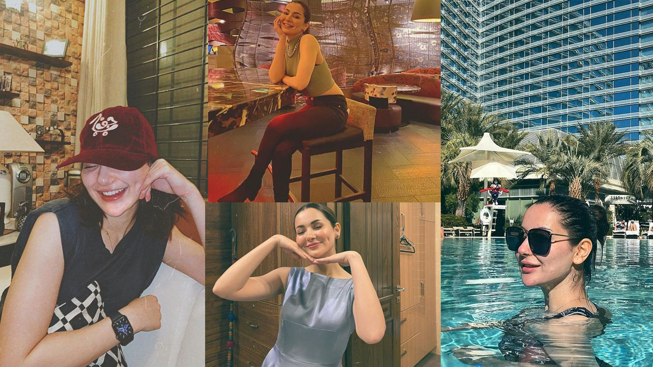 Hania Amir Enjoying Holidays at Cassino with friends