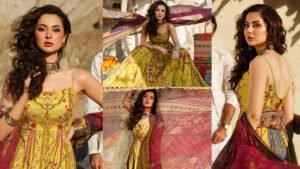 Hania Amir another one Hygiene Clicks with Rang Rasiya