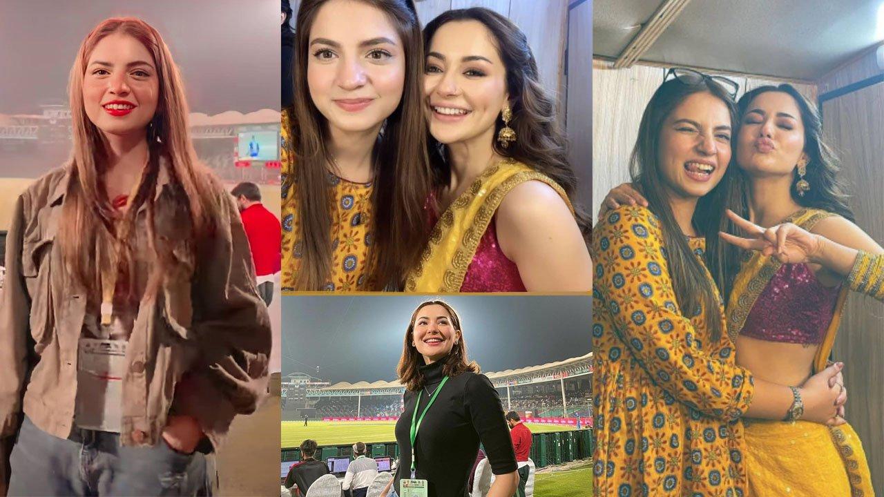 Hania Amir and Pawri Girl Dananeer together Clicks