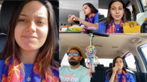 Iqra Aziz outgoing with Husband but Without Makeup