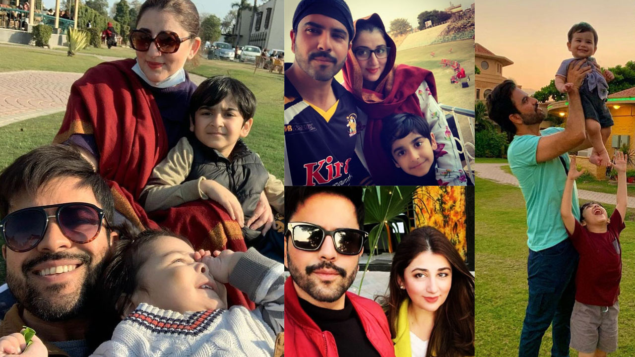 Junaid Khan New Pictures with her Wife and Child
