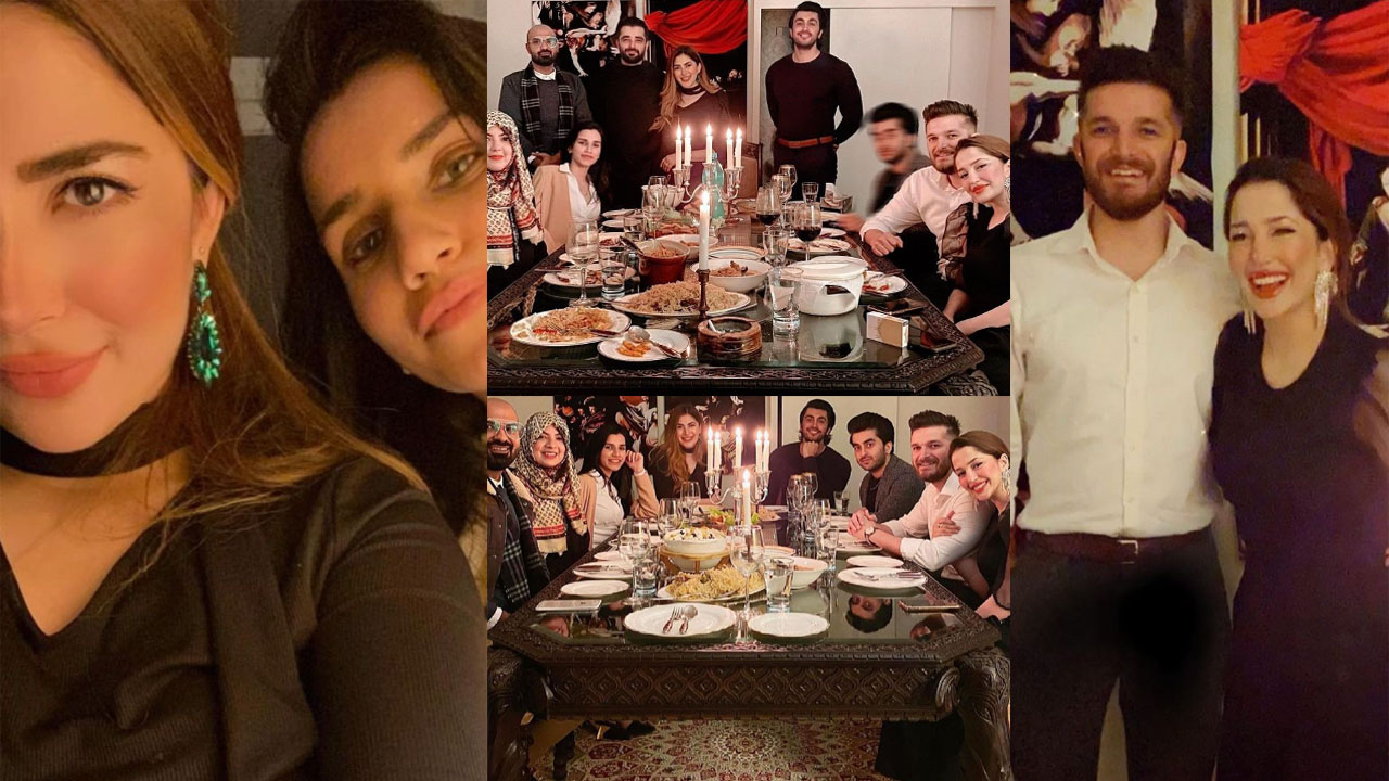 Naimal Khawar invited on her Sister Fiza at Dinner Family Gathering