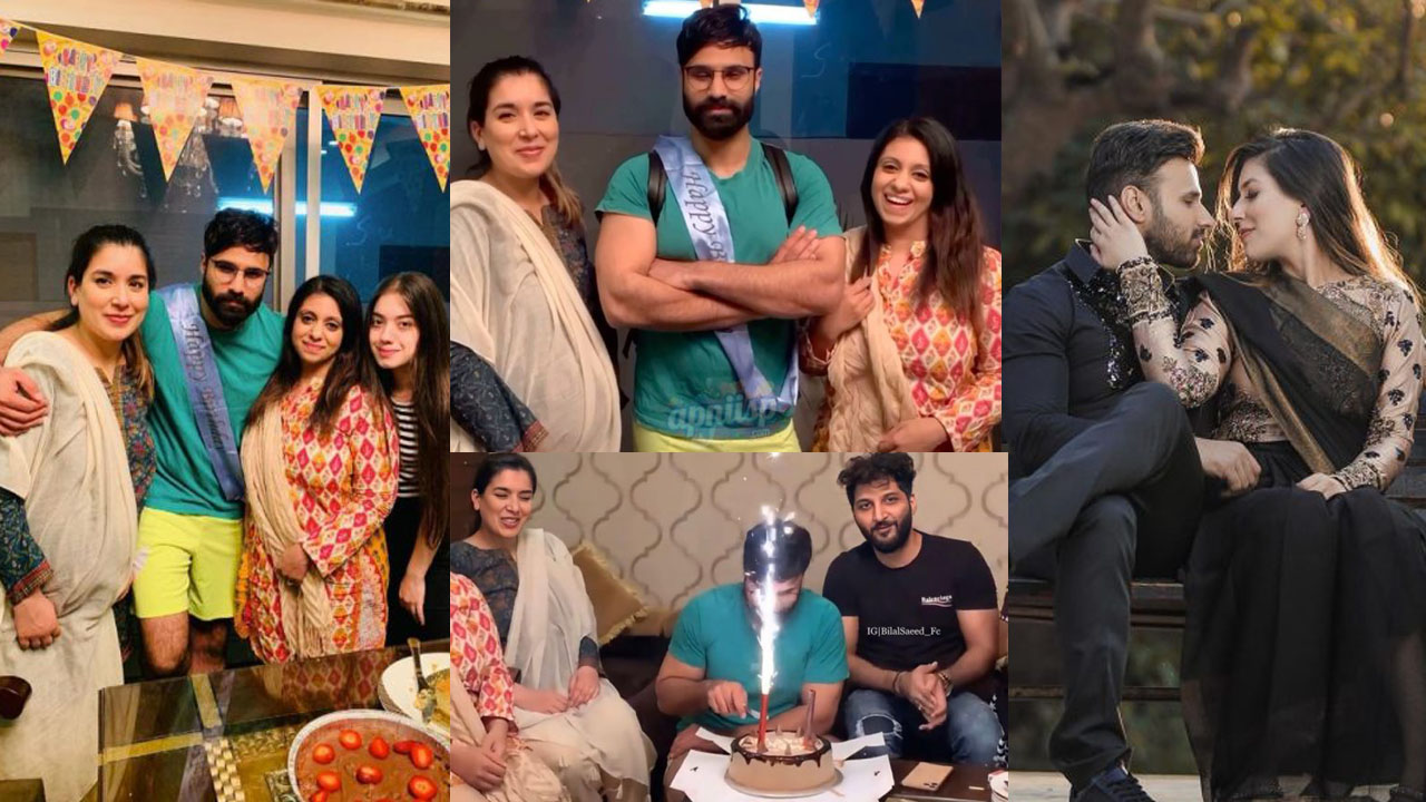 Rahim Pardesi Celebrate his Birthday with Both Wives Family Pictures