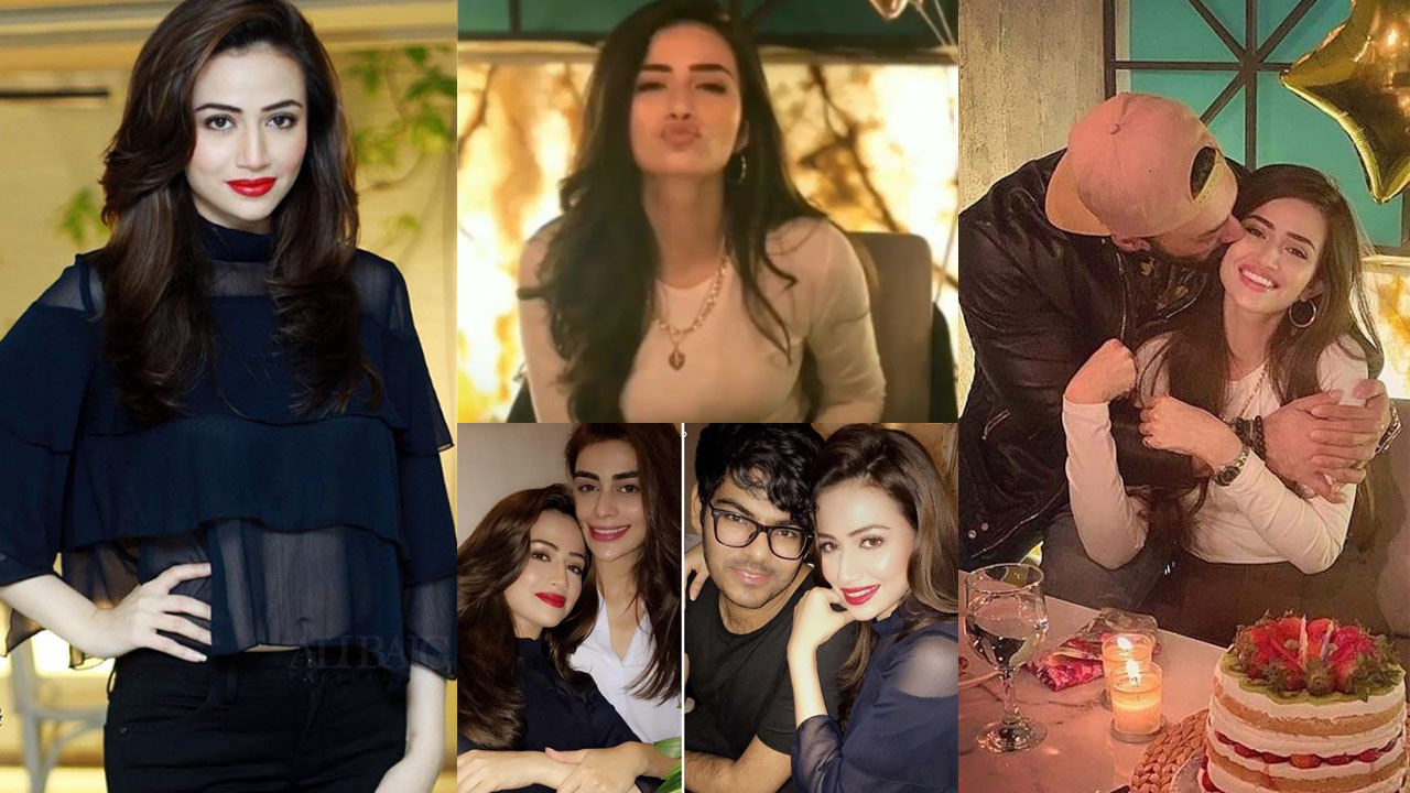 Actress Sana Javed Celebrate her Birthday with Husband and Friends