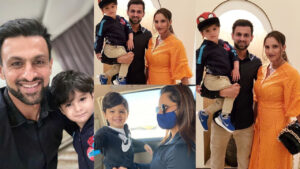 Sania Mirza lost weight After Child Birth Family Clicks