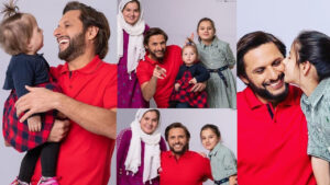 Shahid Afridi New adorable Clicks with his Daughters