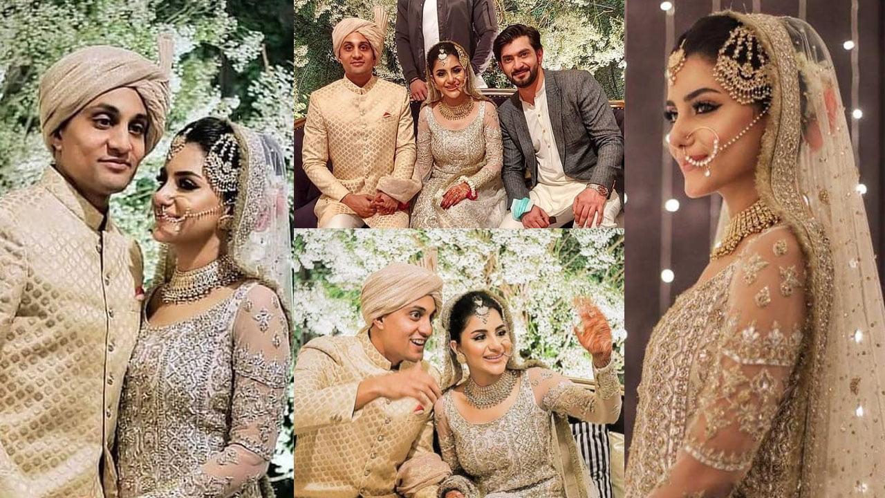 Sohai Ali Abro Starts Life New Journey with Shehraz Wedding Pictures