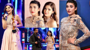Urwa Hocane and Ayesha Omar Proud Moment in Award Show