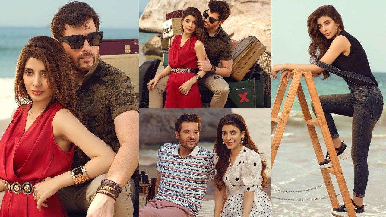 Urwa Hocane and Mikaal Zulfiqar Adorable Beach Couple Clicks