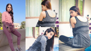 Yshma Gill Shares some bold Clicks in Unique Way