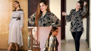 Aiman Khan and Minal Khan New Eid Collection Lovely look