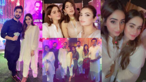 Aiman Khan and Muneeb Butt on Party in Ramzan with friends