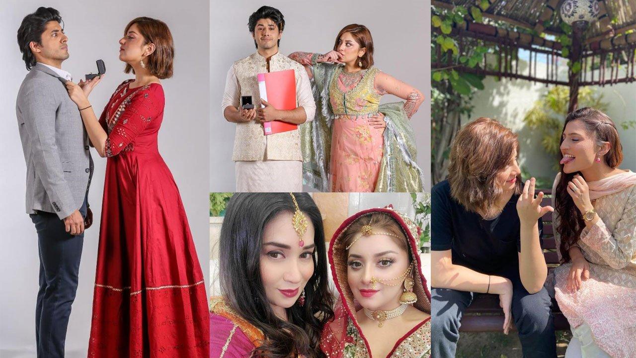 Alizeh Shah and Danyal Zafar New Drama Tana Bana Pictures
