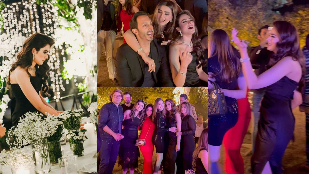Alyzeh Gabol at Dinner Party of her Wedding with Friends