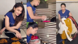 Hina Altaf working as Housemaid on Weekend Naughty Pictures