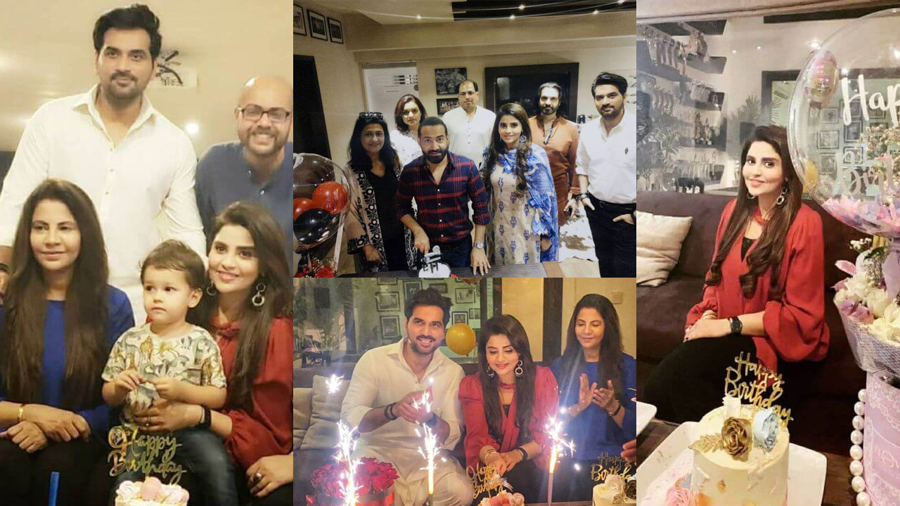 Humayun Saeed Enjoy her Sister in Law Birthday with Family