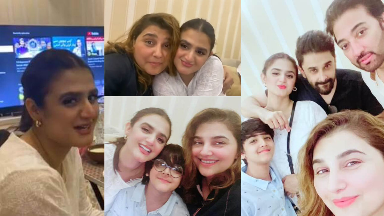 Read more about the article Javeria Saud Invited Hira Mani at Sehri Party wit her Husband