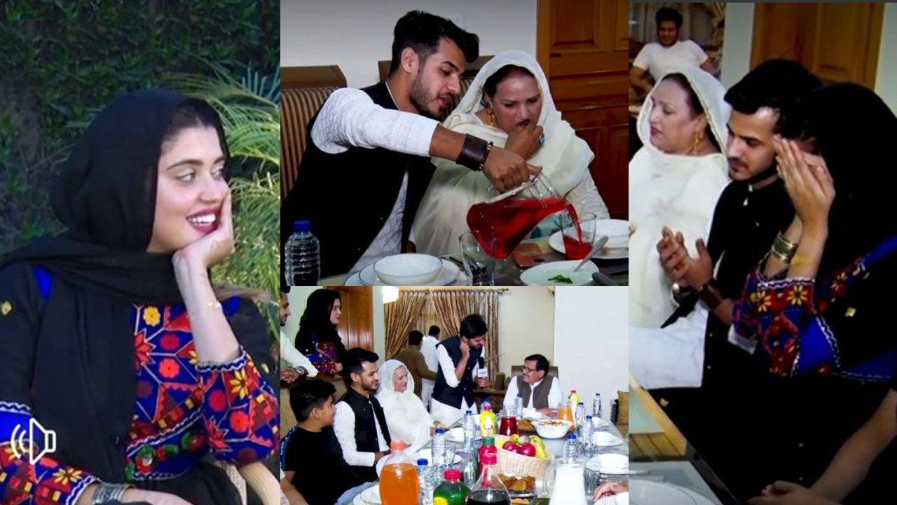 Kanwal Aftab and Zulqarnain 1st Iftari after Nikkah with Family Pictures