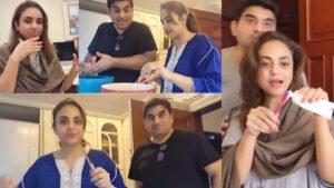 Nadia Khan with her Husband Daily Ramzan Routine