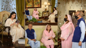 Nida Yasir Interviewed President Dr. Arif Alvi with Family