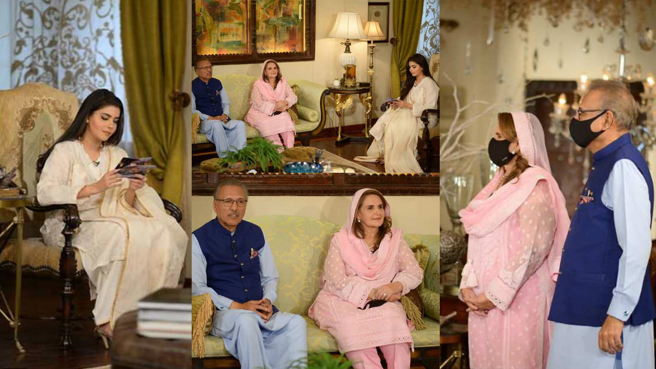 Read more about the article Nida Yasir Interviewed President Dr. Arif Alvi with Family