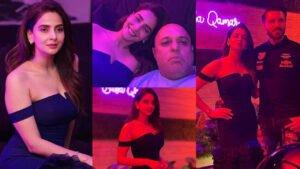 Saba Qamar Enjoying her 37th Birthday Party with Friends