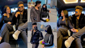 Sarah Khan and Falak Shabbir Finally at Honeymoon Tour Pictures