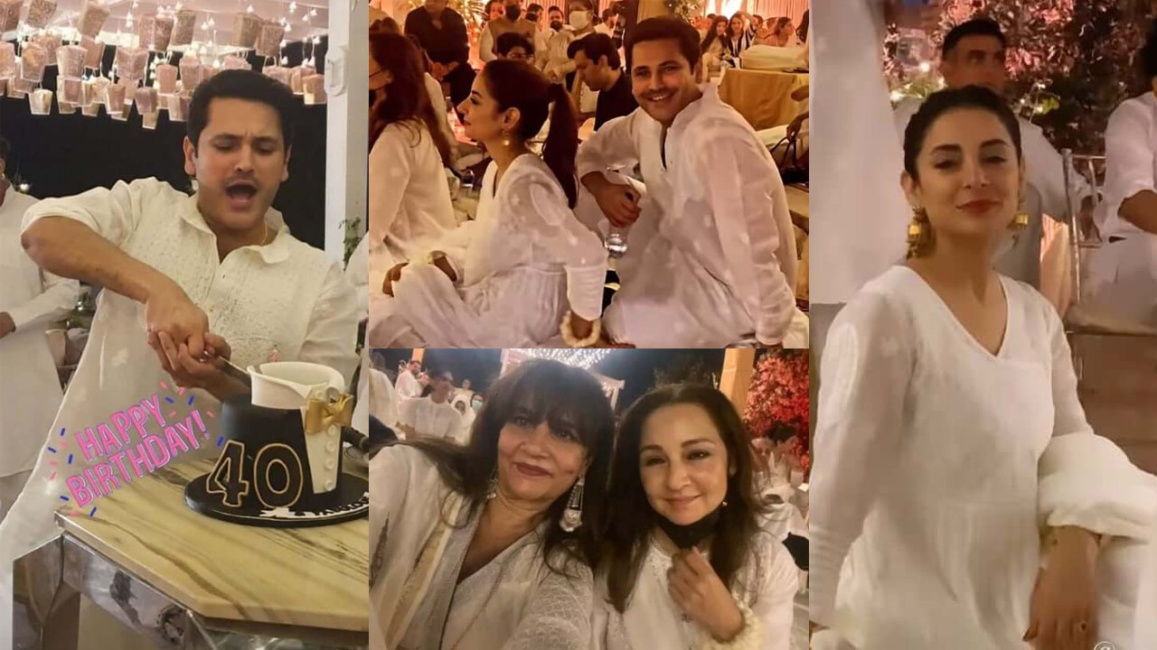 Sarwat Gilani celebrate her Husband Fahad Mirza Birthday Pictures
