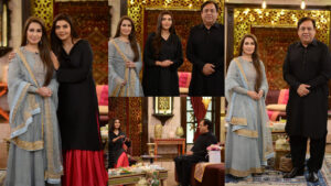 Sohail Ahmed and Reema Khan at Nida Yasir Special guest