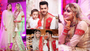 Kanwal Aftab and Zulqarnain New Marriage Pictures with Family
