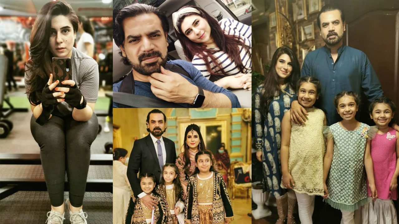 Vasay Chaudhary With his Lovely Young Wife Family Pictures