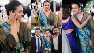 Zara Noor Abbas Awesome Dressing at Wedding Event with Husband