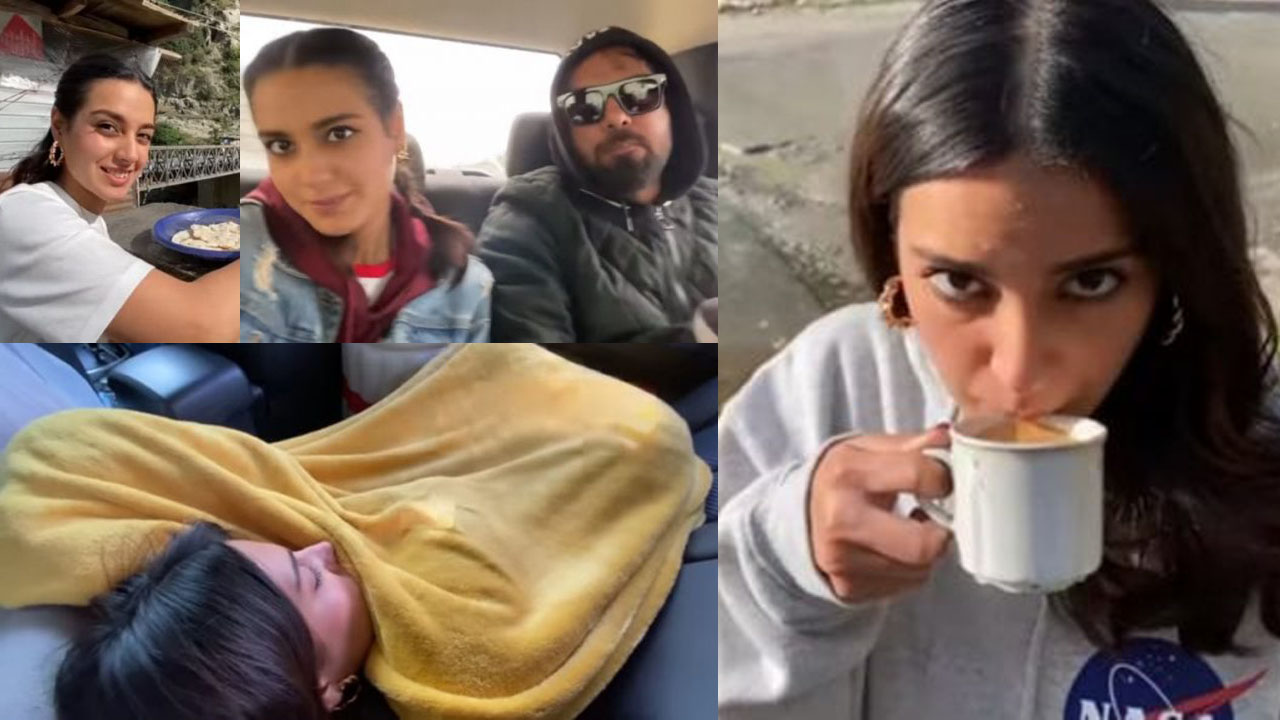Iqra Aziz and Yasir Hussain on Holidays without Makeup