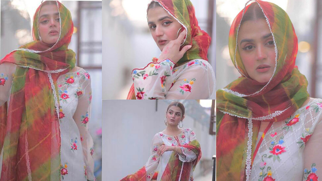Hira Mani looking More Young and Smart in Simple Dresses