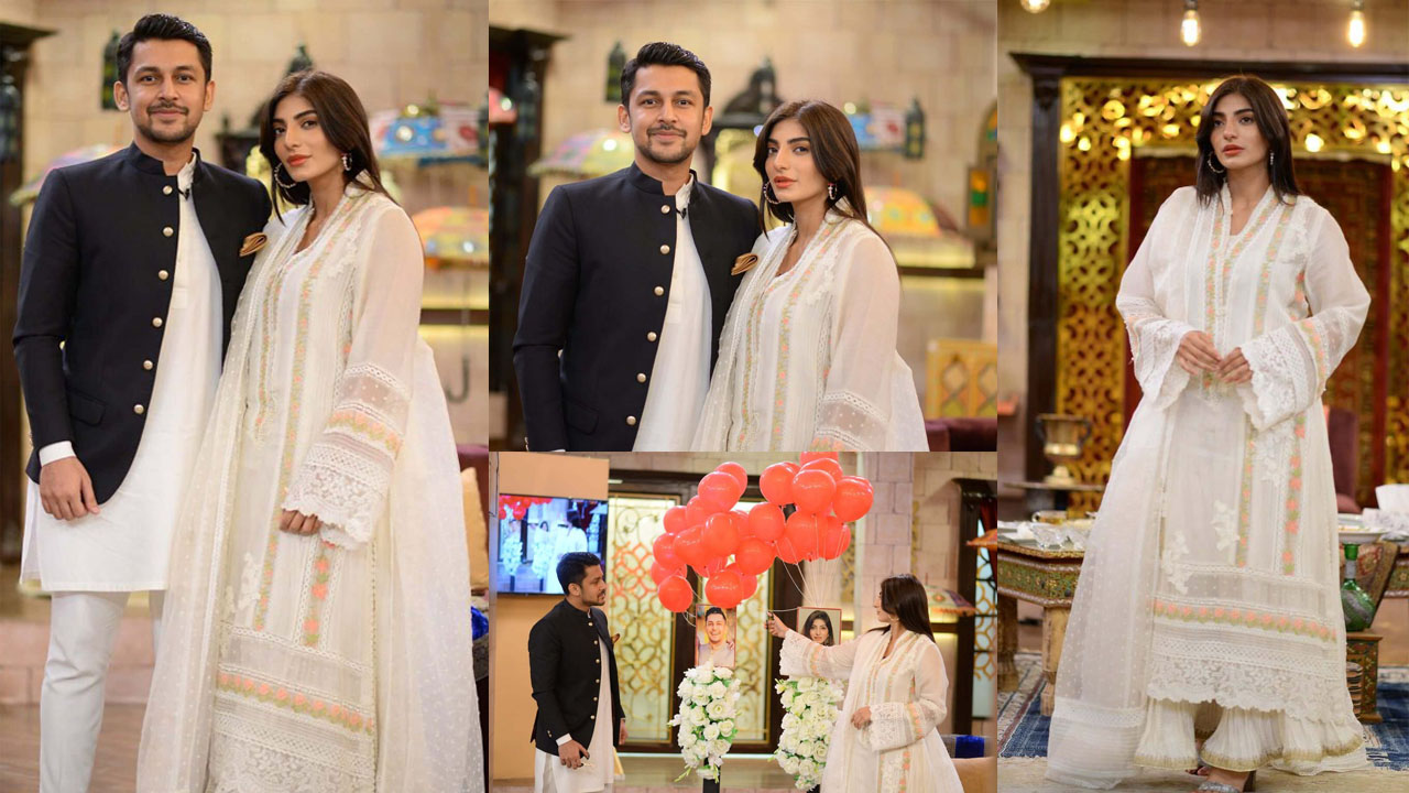 Ali Ansair Sister Mariam Ansari at GMP with her New Husband