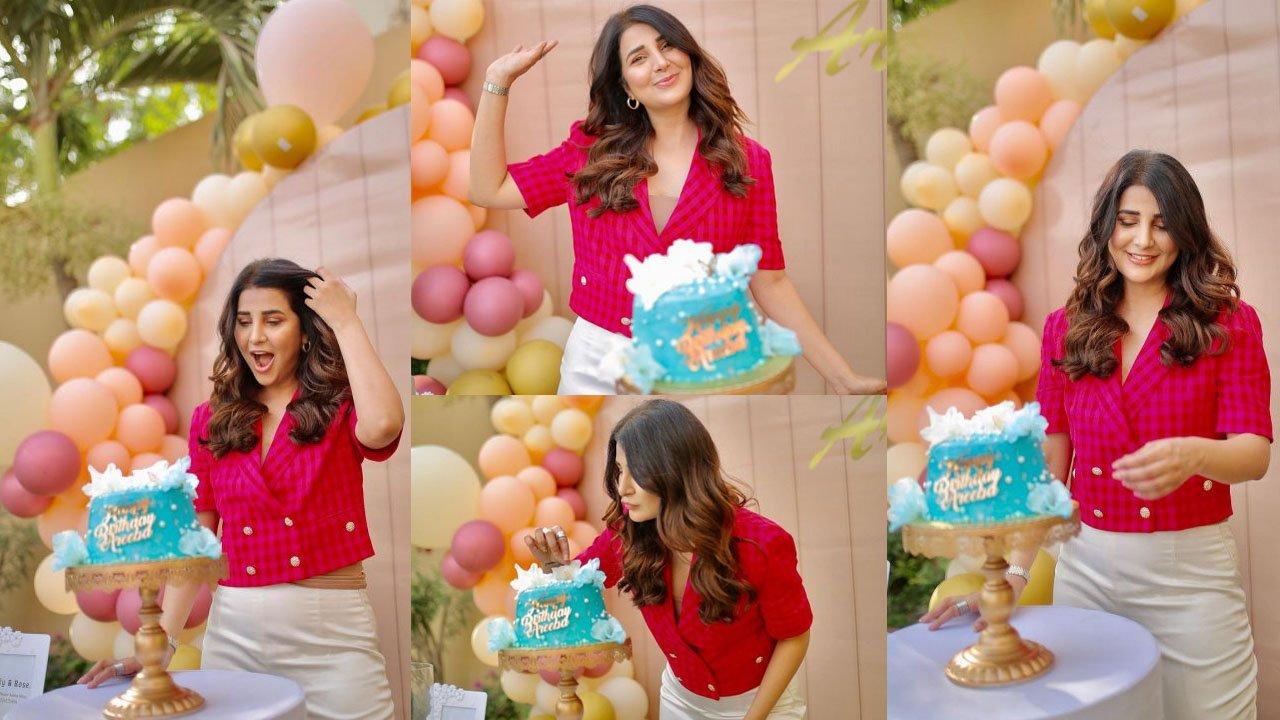 Areeba Habib Celebrating her Birthday at Iftar Party