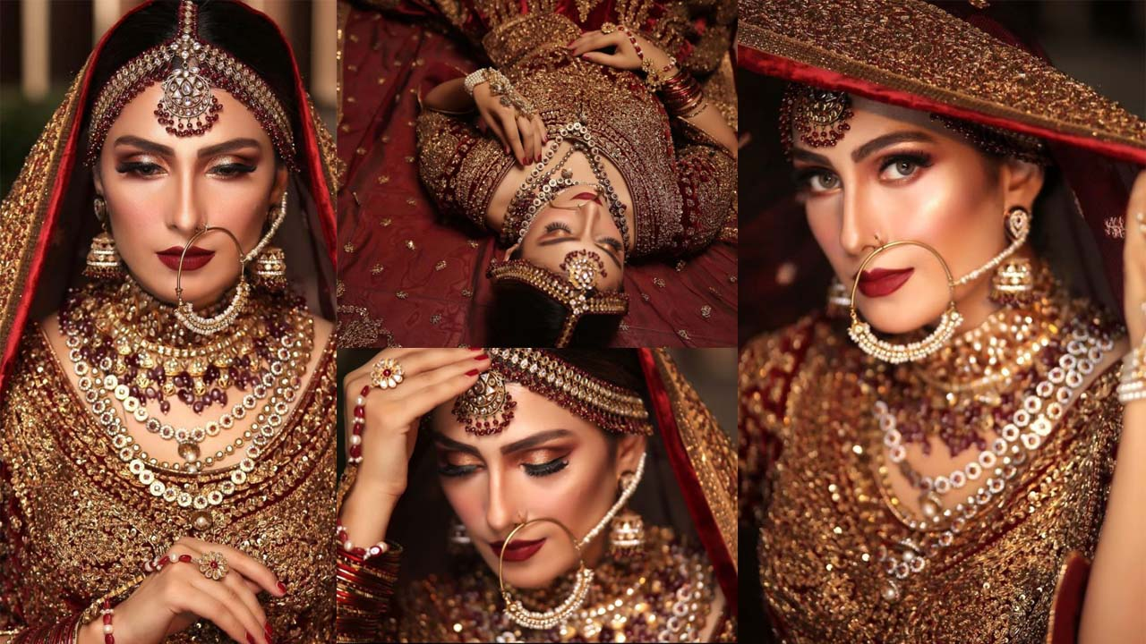 Ayeza Khan again wore the Bridal Dress and Looking Brand New Dulhan