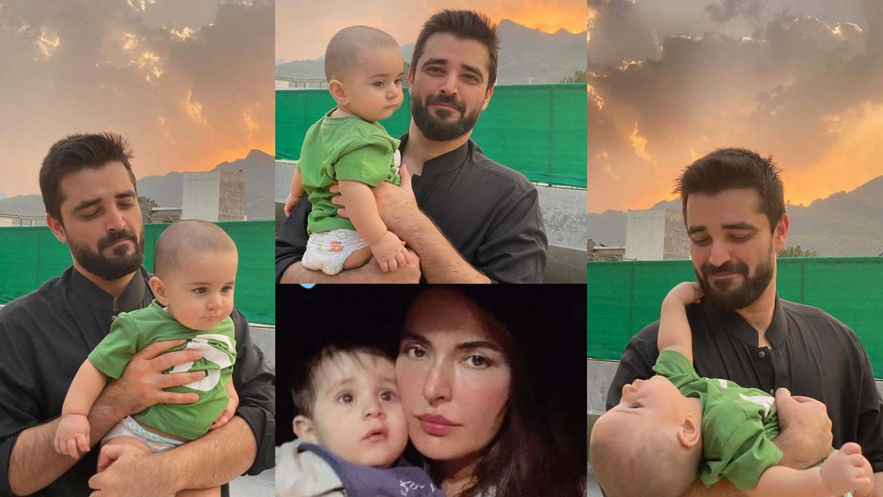 You are currently viewing Hamza Ali Abbasi New Clicks with his Son and Sister