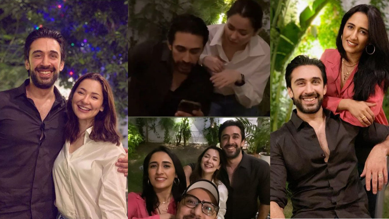 Hania Amir at Birthday Event of Ali Rehman Pictures with Friends