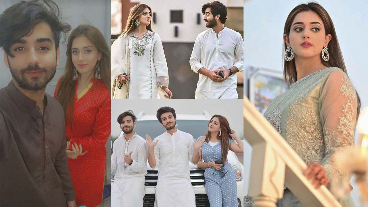 Jannat Mirza Engaged with her Best Friend Umer Butt Pictures