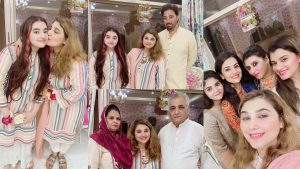 Read more about the article Javeria Saud and Jannat Saud on Eid Day Family Gathering Pictures