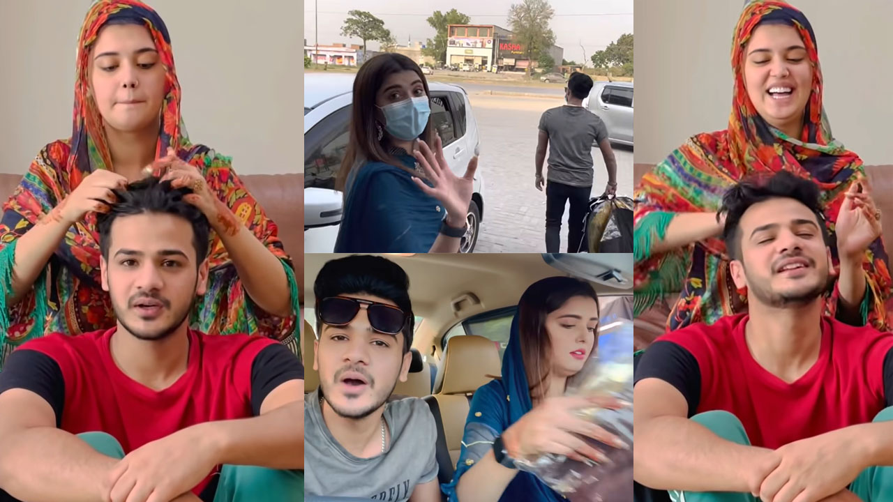 Kanwal Aftab and Zulqarnain busy with Eid Shopping and preparation