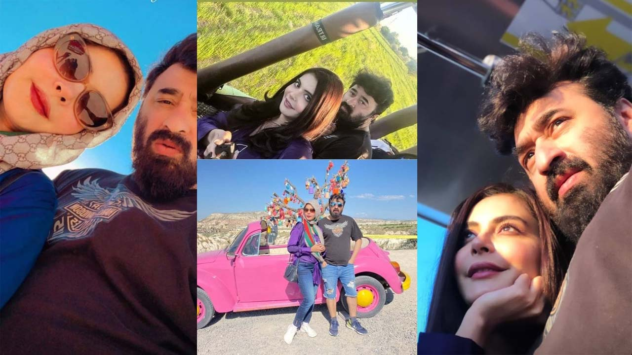 You are currently viewing Nida Yasir and Yasir Nawaz on Holidays with Romantic Mood Pictures
