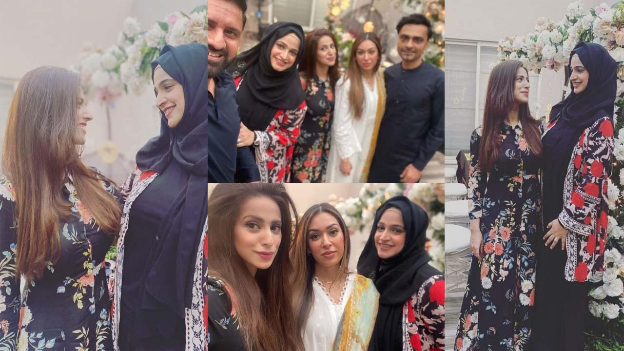 Noor Bukhari Celebrate her Sister Faria Bukhari Birthday Pictures