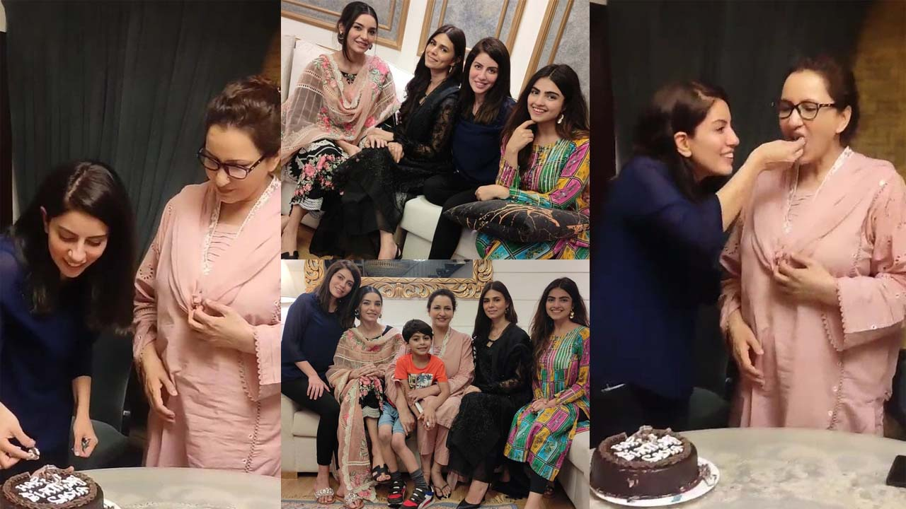 Saba Faisal Daughter Sadia Faisal Celebrate her Birthday with Family and Friends
