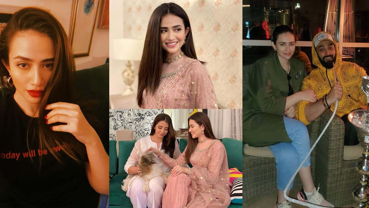Sana Javed and Umair Jaswal New Outclass Pictures in Romantic Style